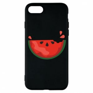 Etui na iPhone 8 Watermelon with a bite