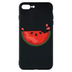 Etui na iPhone 8 Plus Watermelon with a bite