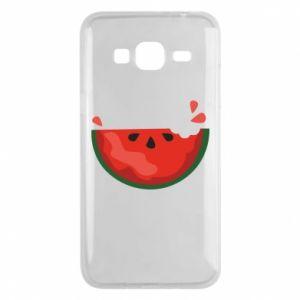 Etui na Samsung J3 2016 Watermelon with a bite