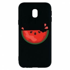 Etui na Samsung J3 2017 Watermelon with a bite