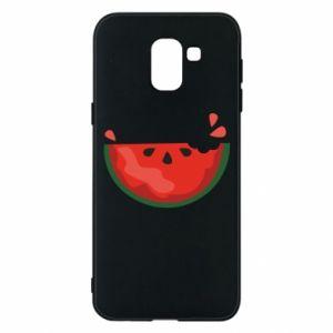 Etui na Samsung J6 Watermelon with a bite