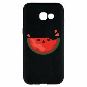 Etui na Samsung A5 2017 Watermelon with a bite