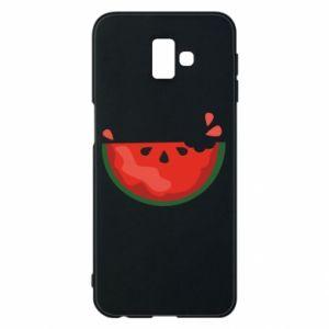Etui na Samsung J6 Plus 2018 Watermelon with a bite