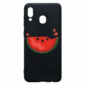 Etui na Samsung A30 Watermelon with a bite