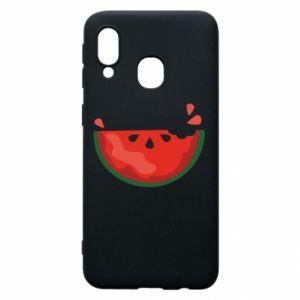 Etui na Samsung A40 Watermelon with a bite