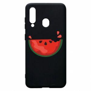 Etui na Samsung A60 Watermelon with a bite