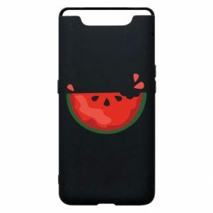 Etui na Samsung A80 Watermelon with a bite