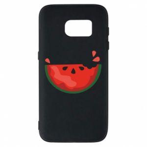 Etui na Samsung S7 Watermelon with a bite