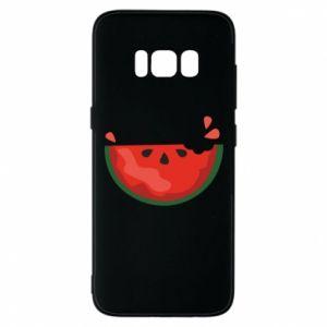 Etui na Samsung S8 Watermelon with a bite