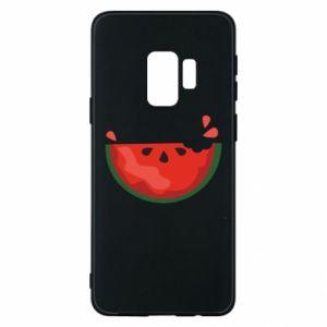 Etui na Samsung S9 Watermelon with a bite