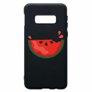 Etui na Samsung S10e Watermelon with a bite