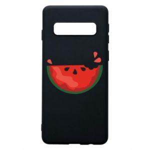 Etui na Samsung S10 Watermelon with a bite