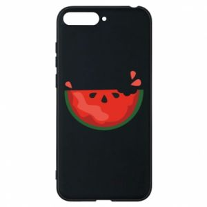 Etui na Huawei Y6 2018 Watermelon with a bite