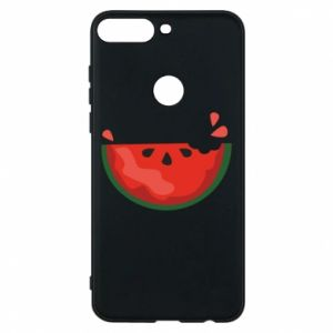 Etui na Huawei Y7 Prime 2018 Watermelon with a bite