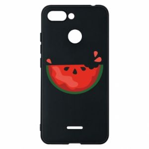 Etui na Xiaomi Redmi 6 Watermelon with a bite