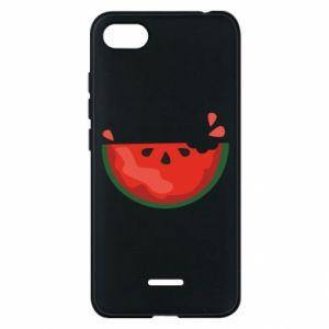 Etui na Xiaomi Redmi 6A Watermelon with a bite