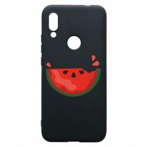 Etui na Xiaomi Redmi 7 Watermelon with a bite