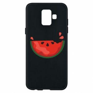 Etui na Samsung A6 2018 Watermelon with a bite