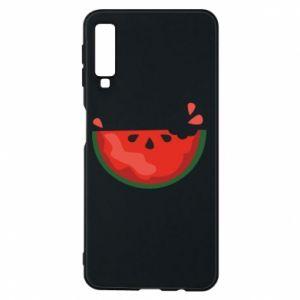 Etui na Samsung A7 2018 Watermelon with a bite