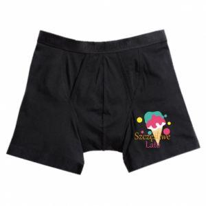 Boxer trunks Happy summer