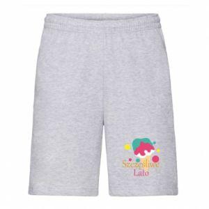Men's shorts Happy summer