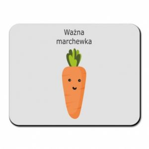 Mouse pad Important carrot - PrintSalon