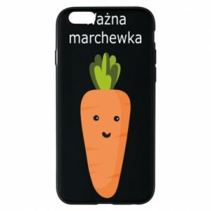 Phone case for iPhone 6/6S Important carrot