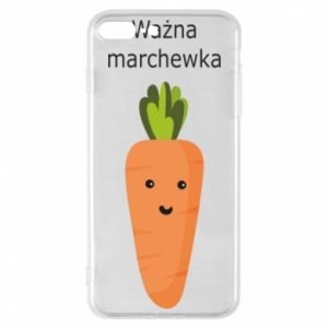 Phone case for iPhone 8 Plus Important carrot - PrintSalon