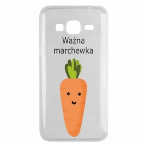 Phone case for Samsung J3 2016 Important carrot