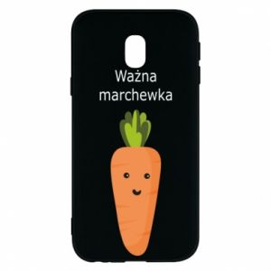 Phone case for Samsung J3 2017 Important carrot