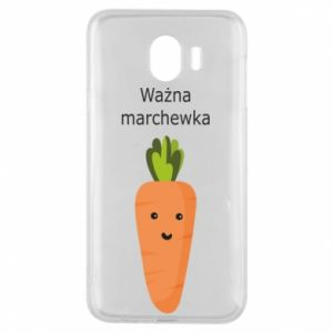 Phone case for Samsung J4 Important carrot - PrintSalon