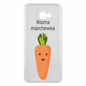 Phone case for Samsung J4 Plus 2018 Important carrot - PrintSalon
