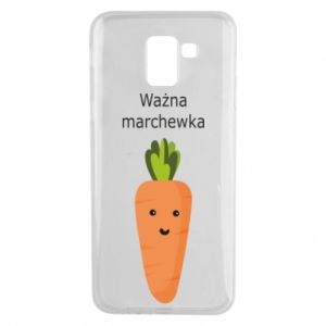 Phone case for Samsung J6 Important carrot - PrintSalon
