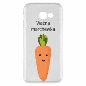 Phone case for Samsung A5 2017 Important carrot - PrintSalon