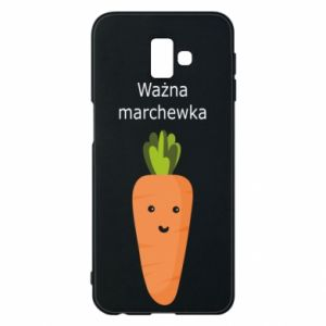 Phone case for Samsung J6 Plus 2018 Important carrot