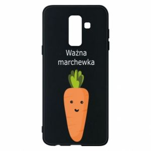 Phone case for Samsung A6+ 2018 Important carrot - PrintSalon