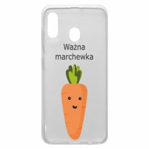 Phone case for Samsung A30 Important carrot - PrintSalon