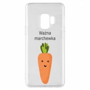 Phone case for Samsung S9 Important carrot
