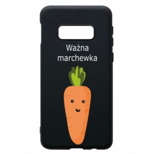 Phone case for Samsung S10e Important carrot