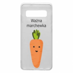 Phone case for Samsung S10 Important carrot - PrintSalon