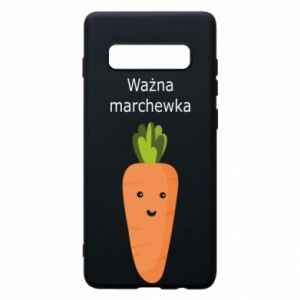 Phone case for Samsung S10+ Important carrot - PrintSalon