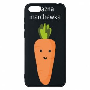 Phone case for Huawei Y5 2018 Important carrot - PrintSalon