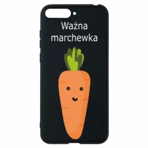 Phone case for Huawei Y6 2018 Important carrot