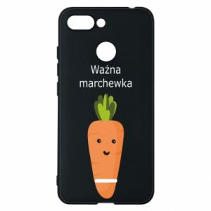 Phone case for Xiaomi Redmi 6 Important carrot - PrintSalon