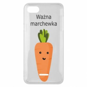 Phone case for Xiaomi Redmi 6A Important carrot - PrintSalon