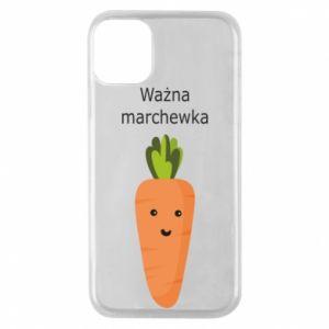Etui na iPhone 11 Pro Ważna marchewka