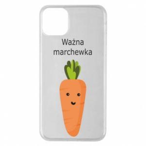 Etui na iPhone 11 Pro Max Ważna marchewka