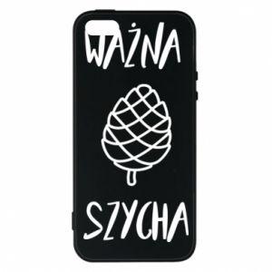 Phone case for iPhone 5/5S/SE Important chef - PrintSalon