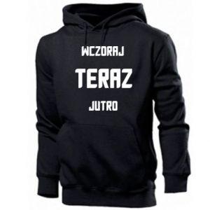 Men's hoodie Yesterday Today Tomorrow