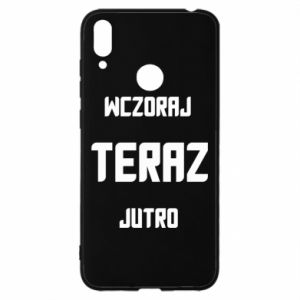 Huawei Y7 2019 Case Yesterday Today Tomorrow